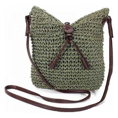 Dámská taška v pleteném provedení - 4 barvy