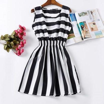 Rozmanité letní šaty - vzor: 10, velikost: 1 - dodání do 2 dnů
