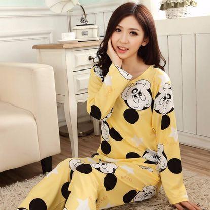 LK shop Pyžamo Mickey Mouse Barva: žlutá, Varianta: XL