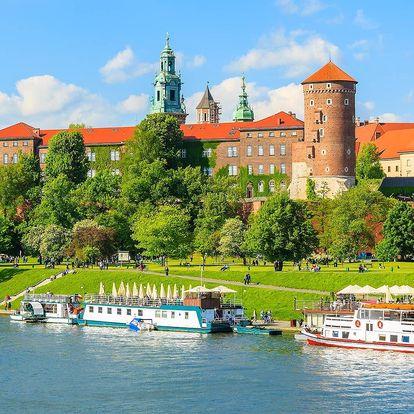 3-4 dny v královském městě Krakov pro 2