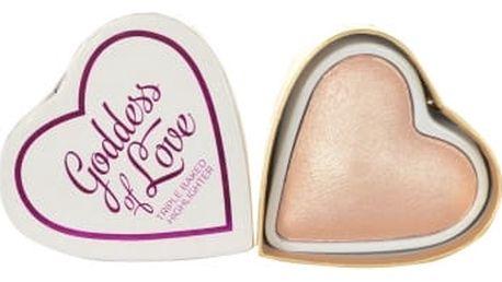 Makeup Revolution London I Heart Makeup Goddess Of Love 10 g rozjasňovač pro ženy Goddess Of Faith