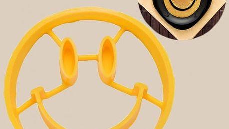 Silikonová formička na volská oka - smajlík