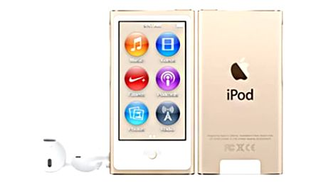 Apple iPod Nano - 16GB, zlatá, 7th gen. - MKMX2HC/A