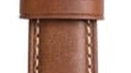 Nomad Horween Leather Strap Traditional, black, na splátky od 300 Kč měsíčně