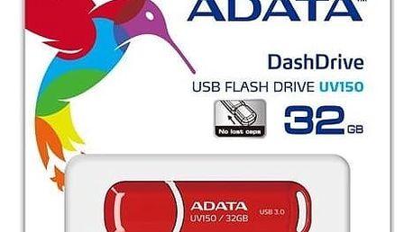 ADATA UV150 32GB, červená - AUV150-32G-RRD