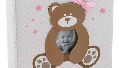 KARPEX Exkluzivní dětské fotoalbum 10x15/200 foto SWEETY, Růžové