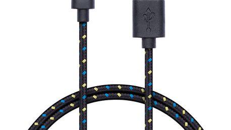 CONNECT IT Wirez Premium micro USB - USB, 1m - CI-953