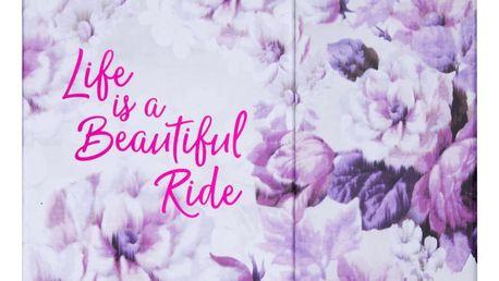 Kapesní týdenní plánovač Tri-CoastalDesign Romantic Rose