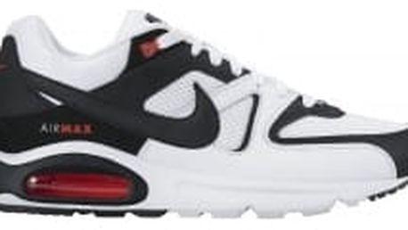Pánské tenisky Nike AIR MAX COMMAND 43 WHITE/BLACK-MAX ORANGE