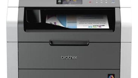 Tiskárna multifunkční Brother DCP-9020CDW (DCP9020CDWYJ1) černá/šedá A4, 18str./min, 18str./min, 2400 x 600, 190 MB, duplex, WF, USB