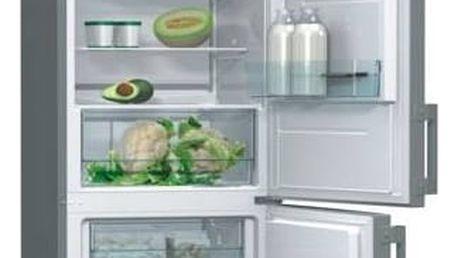 Kombinace chladničky s mrazničkou Gorenje Essential RK6192AX Inoxlook + Doprava zdarma
