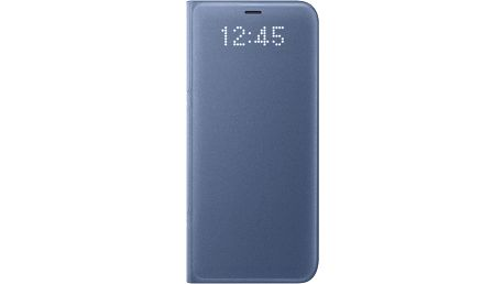 Samsung S8 Flipové pouzdro LED View, modrá - EF-NG950PLEGWW