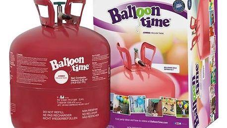 Helium Balloon Time 50 + Doprava zdarma