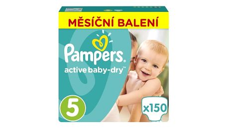 Plenky Pampers Active Baby Monthy Box S5 150 ks