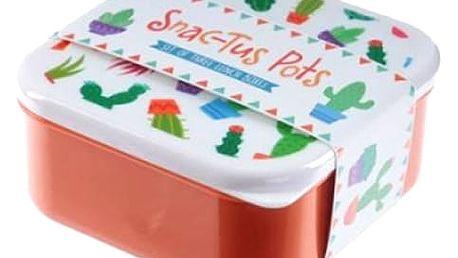 Sada 3 ks svačinových boxů. Po obědě můžete vložit krabičky do sebe a ušetří Vám to místo v tašce.