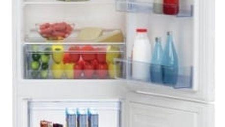 Kombinace chladničky s mrazničkou Beko RCSA 270 K30 W bílá