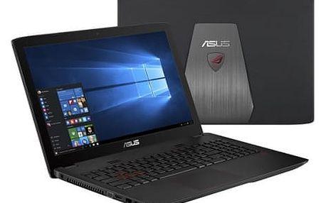 Notebook Asus GL552VX-CN147T (GL552VX-CN147T) černý/plast