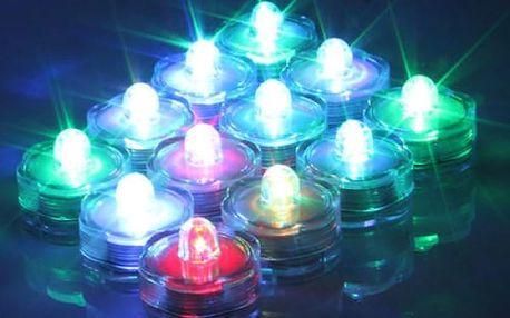 Voděodolné LED svíčky - 12 kusů