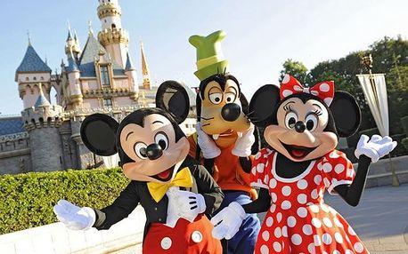 Prázdninová Paříž a Disneyland, poznávání a zážitky, ubytování hot..., Île-de-France, Francie, autobusem, snídaně v ceně