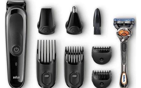 Zastřihovač vousů Braun MGK3060 černý + Doprava zdarma