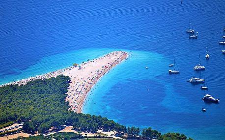Letní dovolená přímo ve městě Makarska v Chorvatsku s polopenzí
