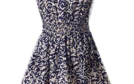 Rozmanité letní šaty - varianta 20, vel. 1 - dodání do 2 dnů