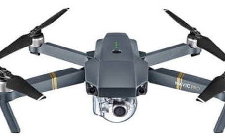 Dron DJI Mavic Pro, 4K Full HD kamera (DJIM0250) šedý