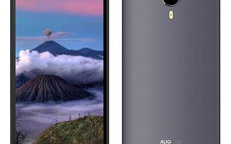 Mobilní telefon Aligator S5060 Dual SIM (AS5060GY) šedý Software F-Secure SAFE 6 měsíců pro 3 zařízení (zdarma)SIM s kreditem T-Mobile 200Kč Twist Online Internet (zdarma)