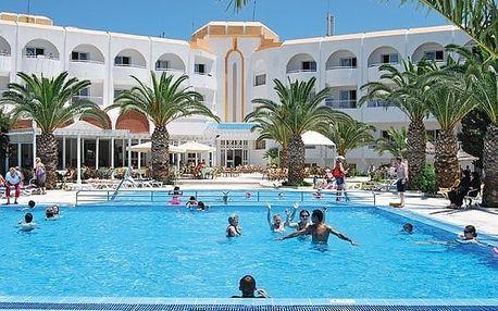Tunisko - Port El Kantaoui na 12 dní, polopenze s dopravou letecky z Prahy