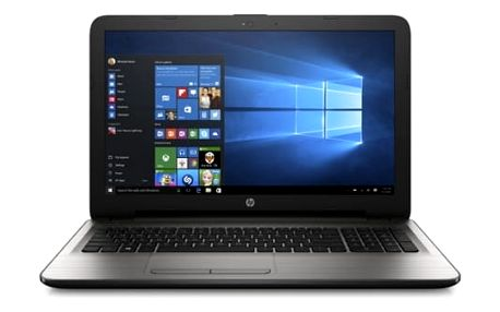 Notebook HP 15-ay102nc (Z5D76EA#BCM) stříbrný