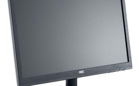 """AOC e2460Sh - LED monitor 24"""" + Sen.se ThermoPeanut - chytrý teplotní senzor"""