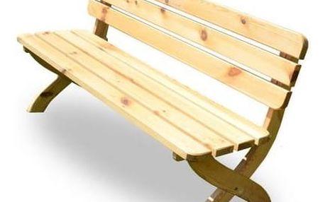 Lavice Rojaplast Strong dřevo + Doprava zdarma