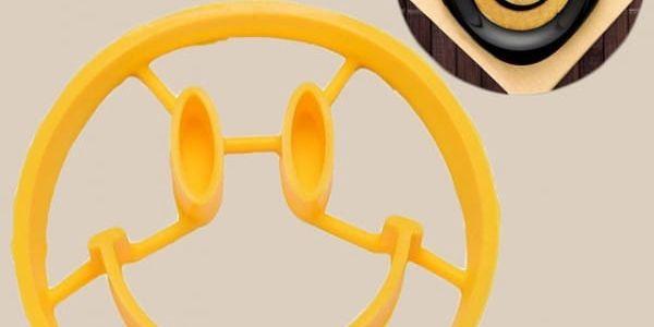 Silikonová formička na volská oka - smajlík - dodání do 2 dnů