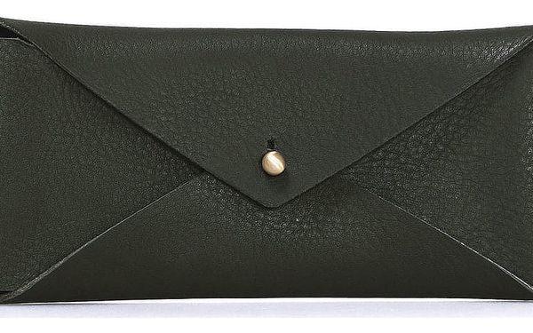 Kožené pouzdro na brýle O My Bag Envelope Midnight Dark