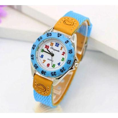 Dětské analogové hodinky - mix barev