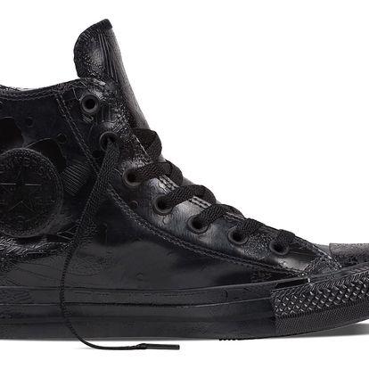 Converse černé lesklé tenisky CTAS HI Black - 38