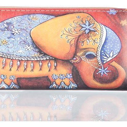 Dámská peněženka se slonem