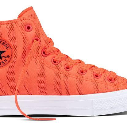 Converse neonové pánské tenisky CTAS II Hi Hyper Orange/White/Gum - 44