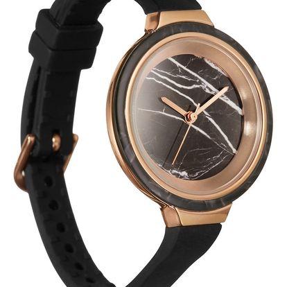 Dámské hodinky Rumbatime Orchard Marble Rose Gold Lights Out - doprava zdarma!