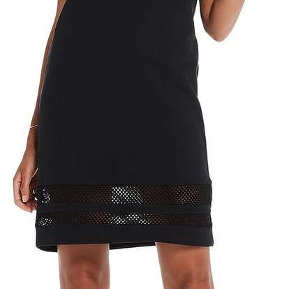 Scotch&Soda černé děrované sporty šaty - L