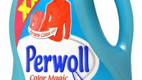 PERWOLL Color prací prostředek na barevné oblečení 4 litry