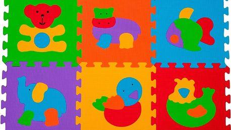BABY ONO Puzzle pěnové zvířátka