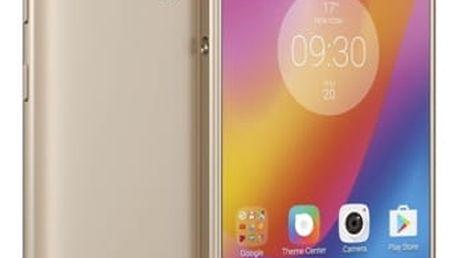 Mobilní telefon Lenovo P2 Dual SIM (PA4N0015CZ) zlatý