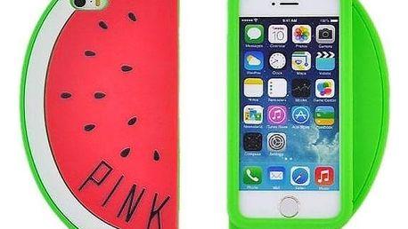 PINK Pouzdro na mobil meloun - červené