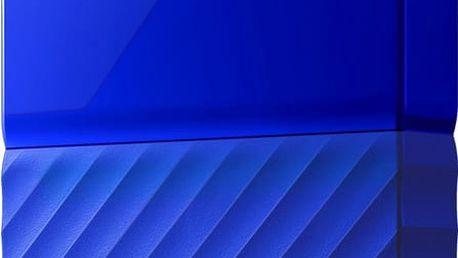 WD My Passport - 2TB, modrá - WDBYFT0020BBL-WESN