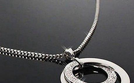 Náhrdelník s výrazným kruhovým přívěskem - dodání do 2 dnů