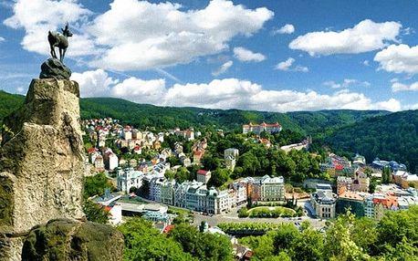 3–6denní pobyt s polopenzí v hotelu Gejzír v Karlových Varech pro 2 osoby