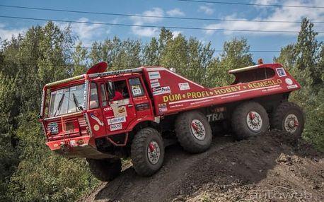 30 minut v Tatra 813 8x8 Truck Trial pro 1 osobu v Ostravě