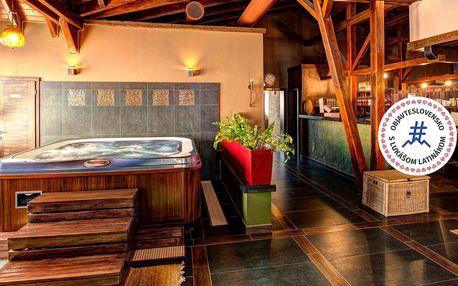 Wellness pobyt v toskánském stylu v hotelu Galileo Donovaly**** s polopenzí a neomezeným wellness