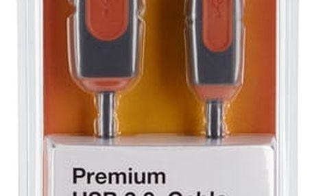 Belkin USB 2.0 kabel A-B, řada premium, 1.8 m - CU1000cp1.8M